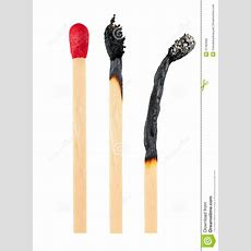 Set Of Burnt Match Stock Photo Image Of Flammable, Charred 31383992