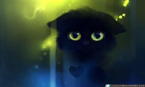 triste peinture kitty fond decran hd  telecharger