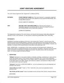 Joint Venture Term Sheet Template Letter Of Intent Joint Venture Template Free Sle Term Sheet And Letter Of Intent