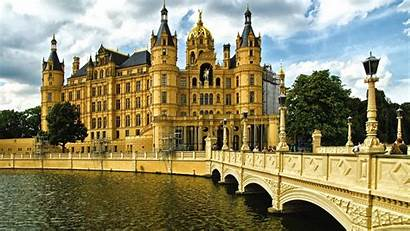 Palace Schwerin Background Europe Wallpapers Backgrounds Rococo