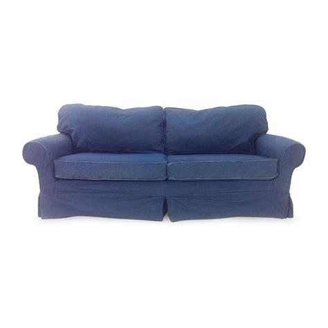 blue jean denim sofa 78 off blue denim couch sofas