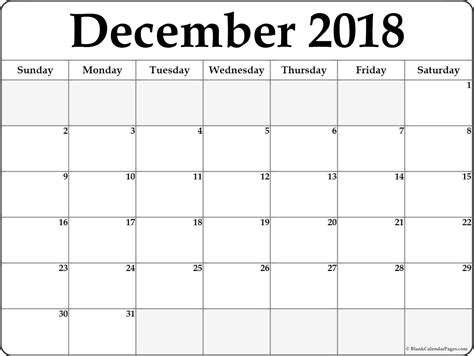 printable calendar december printable calendar blank