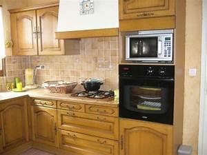 Cuisine Repeinte En Blanc : avant gris blanc photo de cuisine repeinte chinons et kolorons ~ Melissatoandfro.com Idées de Décoration