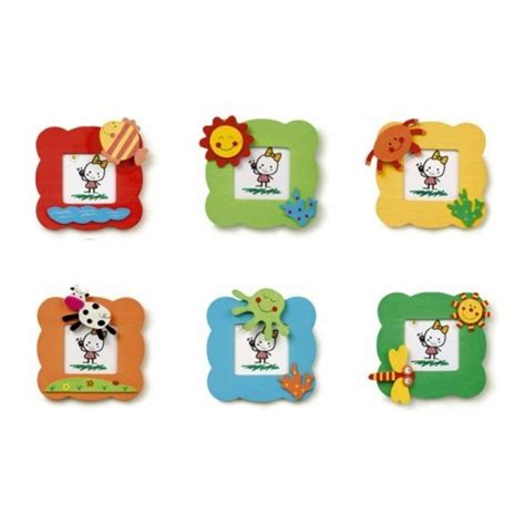 Kinderzimmer Deko Bilderrahmen by Bilderrahmen Lachende Gesichter 6er Set Spielzeug