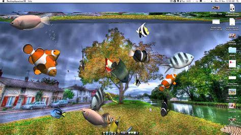 desktop aquarium   wallpaper  imac youtube