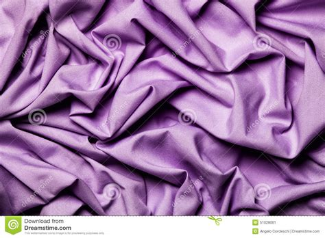 Draping Fabric Cloth Shiny Purple Lilac. Wavy Background