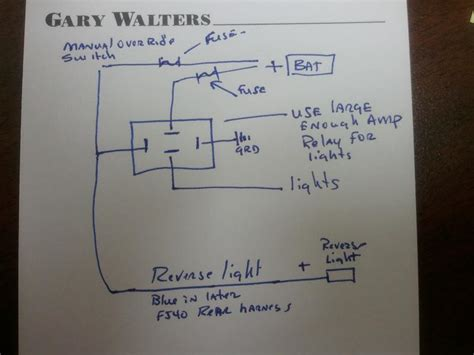 wire aux lights  reverse switch  toggle switch