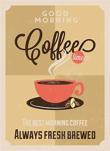 Coffee poster design Vector | Free Download