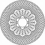 Guilloche Rosette Coloring Geometric Clipart Pattern Mandalas Pdf تلوين Imprimir زخرفيه Patterns Drawing Publicdomains Domain Mandala وحده Spirograph Openclipart Clip sketch template