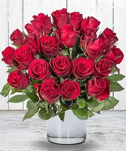 1 Rote Rose Bedeutung : 23 rote rosen jetzt bestellen bei valentins valentins blumenversand blumen und geschenke ~ Whattoseeinmadrid.com Haus und Dekorationen