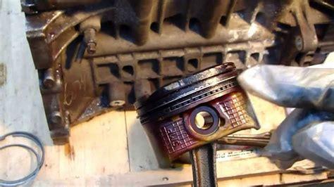 symptoms  bad valve seals  piston rings