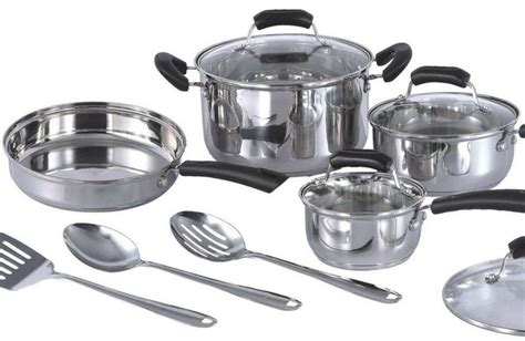 Induction Cookware Set Stainless Steel Pots And Frying Pan