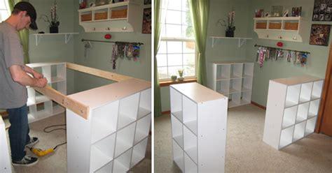 comment construire une cuisine avec 3 étagères ikea il arrive à fabriquer un joli meuble