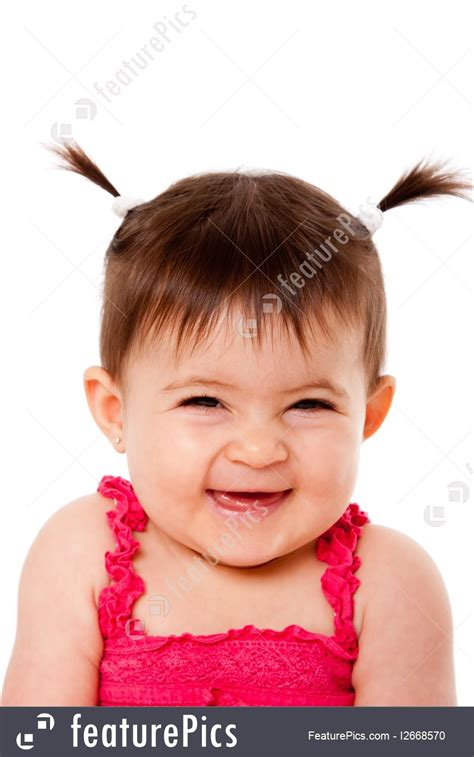 happiness expressions happy laughing baby stock image