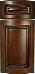 Curved, Cabinet, Doors, With, Applied, Molding
