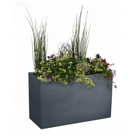 bac à fleurs rectangulaire bac 224 fleurs rectangulaire haut 116 litres chez jardin et saisons