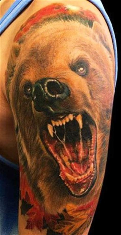 bear tattoo images designs