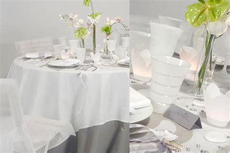 deco mariage blanc et gris decoration salle de mariage blanc et gris le mariage