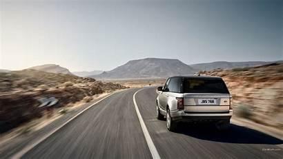 Rover Range Land Driving Road Highway Vehicle