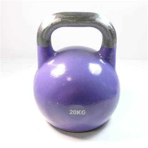 kettlebell lb kg commercial steel yellow