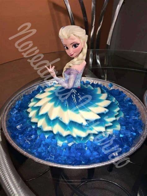 molde falda vestido princesas frozen gelatina pastel royal