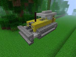 Minecraft Bulldozer