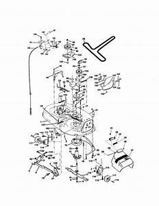 Mower Deck Diagram  U0026 Parts List For Model 917272761