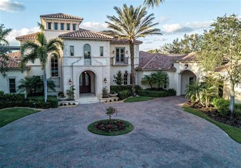 Mediterranean Style Home In Naples, Florida