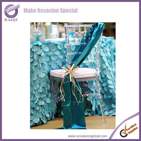2014 wholesale cheap new chair tie backs taffeta wedding