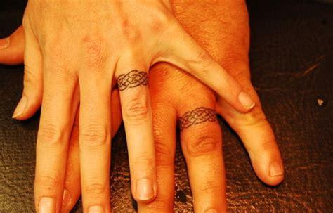 beautiful wedding ring tattoos