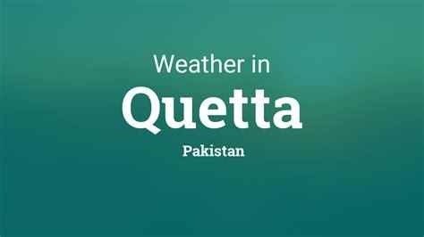 weather  quetta pakistan