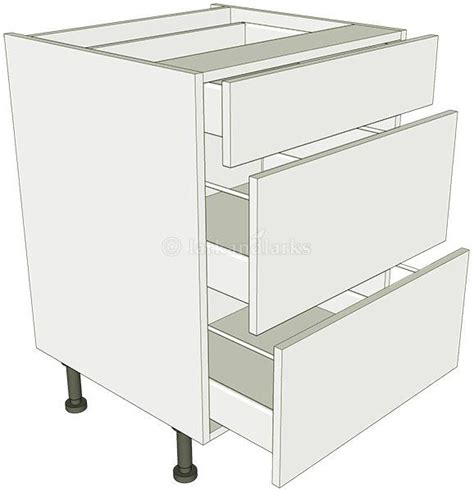 kitchen cabinet carcase 3 drawer base unit lark larks 2391
