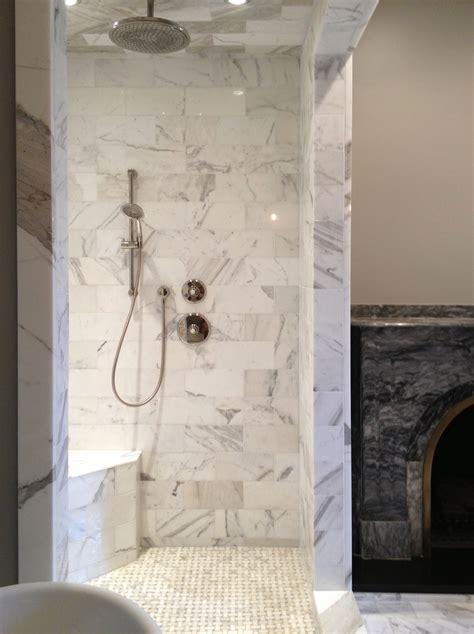 white baths castelli marble