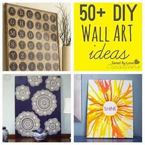 Easy diy wall art ideas home