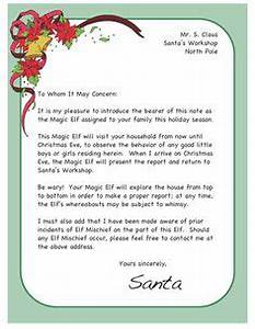 1000 images about elf on the shelf on pinterest elf on for Magic santa letter