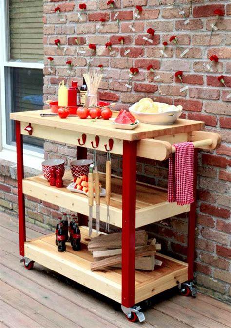 barbecue moderne  idees de cuisine exterieure pour lete