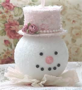 Snowman Styrofoam Ornament Crafts
