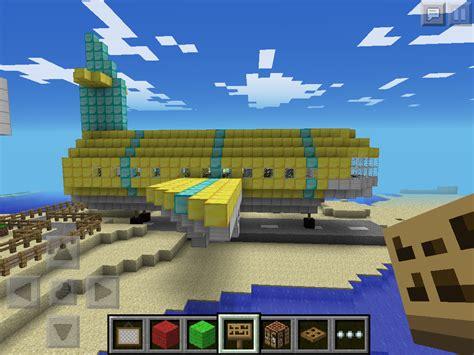 Mcpe Plane And Tiny Airport Mcpe Show Your Creation