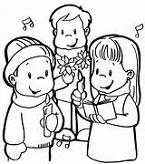 Coloring Pages Colorear Para Printable Printables Singers Coro Choir Carol Posadas Las Church Colouring Coloringbook4kids Iglesia Books Worksheets Worksheet Christmas sketch template
