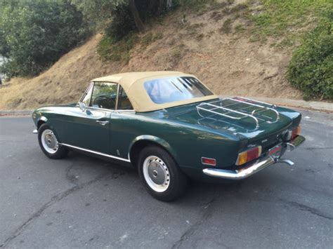 1973 Fiat 124 Spider by 1973 Fiat 124 Spider Convertible 2 Door 1 6l For Sale