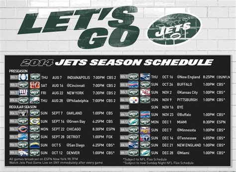 dissecting   york jets  schedule  sports