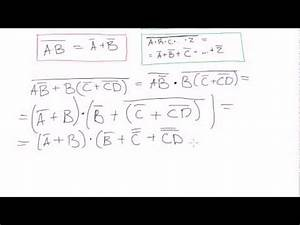 Boolean Algebra  25  Demorgan U0026 39 S Theorem