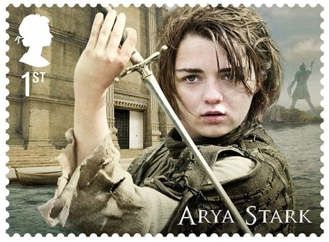 royal mail unveils game  thrones stamp collection