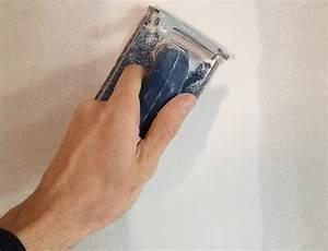 preparer son mur plafond pour la peinture bricolerenovefr With preparation murs avant peinture