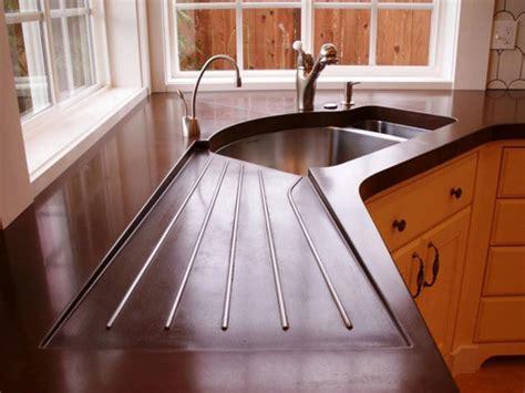 poured concrete countertops concrete countertops kitchen smart home kitchen