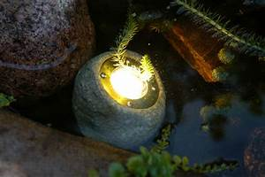 12v electric low voltage garden or outside pond rock With 12v garden rock lights