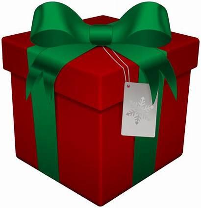 Gift Christmas Transparent Clip Box Santa Background
