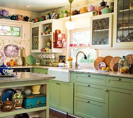 Colorful Vintage Kitchen Love