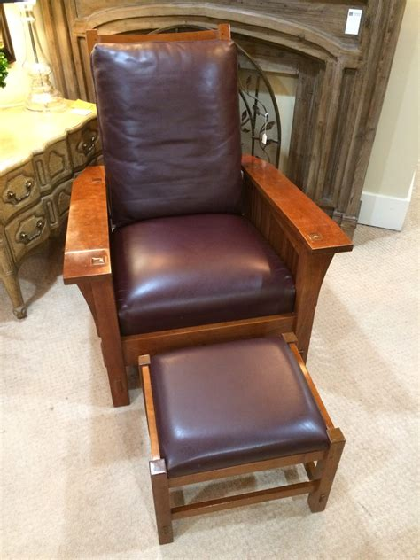 spindle chair and ottoman stickley spindle morris chair with ottoman windsor