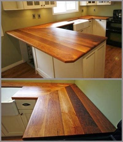 wood top kitchen island reclaimed wood countertops home 2013 1611